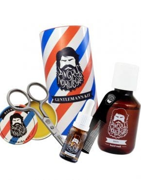 kit barbe de gentleman Angry norvegian